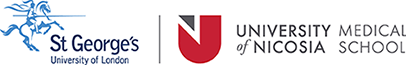 St. George's University of London | University of Nicosia Medical School Mobile Retina Logo
